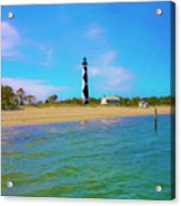 Cape Lookout 1 Acrylic Print by Betsy Knapp