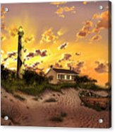Cape Lookout Lighthouse 2 Acrylic Print