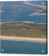 Cape Lookout Lighthouse Distance Acrylic Print