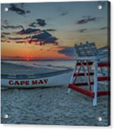Cape May At Sunrise - Cape May New Jersey Acrylic Print