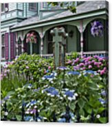 Cape May House And Garden. Acrylic Print