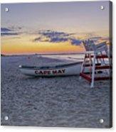 Cape May Mornings Acrylic Print