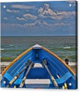 Cape May N J Rescue Boat 2 Acrylic Print