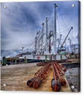 Cape May Scallop Fishing Boat Acrylic Print
