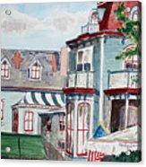 Cape May Victorian Acrylic Print