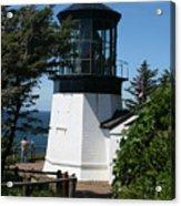 Cape Meares Lighthouse Li 100 Acrylic Print