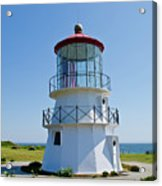 Cape Mendocino Lighthouse Acrylic Print
