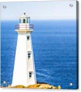 Cape Spear Lighthouse Acrylic Print
