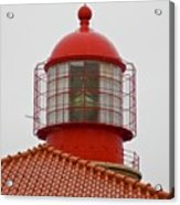 Cape St. Vicente Lighthouse in Portugal Acrylic Print