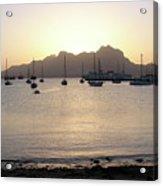 Cape Verde Sunset Acrylic Print
