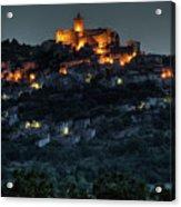 Capestrano Abruzzo Italy Acrylic Print