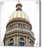 Capital Building Dome Cheyenne Wyoming Vertical 01 Acrylic Print