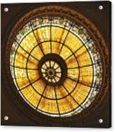 Capital One Bank Building Dome Acrylic Print