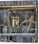 Capital Quarry Cutting Shed Acrylic Print