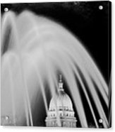Capital Stained Acrylic Print