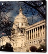 Capitol Building Acrylic Print