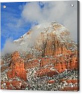Capitol Butte Acrylic Print