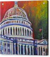 Capitol Closing Acrylic Print