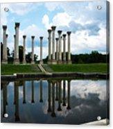 Capitol Columns, National Arboretum Acrylic Print