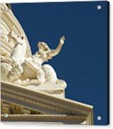Capitol Frieze Sculpture Acrylic Print