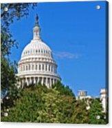 Capitol Gains Acrylic Print