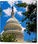 Capitol Of The United States Acrylic Print