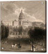 Capitol Of The Unites States, Washington D C Acrylic Print