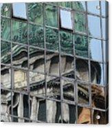 Capitol Reflection Acrylic Print