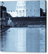 Capitol Reflections Iv Acrylic Print