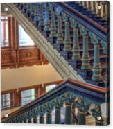 Capitol Stairwell Acrylic Print