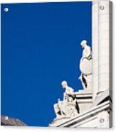 Capitol Statues - Madison Wisconsin-1 Acrylic Print