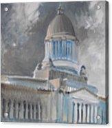Capitol Turmoil Acrylic Print