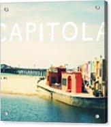Capitola Acrylic Print