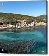 Capo Caccia Sardinia Acrylic Print
