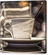 Cappuccino In Milan Acrylic Print