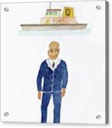 Capt. Don Acrylic Print