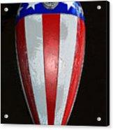 Captain America Original Work One Acrylic Print