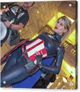 Captain America Acrylic Print