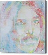 Captain Beefheart - Watercolor Portrait.6 Acrylic Print