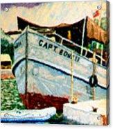 Captain Bones Acrylic Print