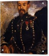 Captain Edouard Bernier 1871 Acrylic Print
