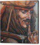 Captain Jack Acrylic Print