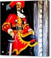 Captain Morgan Acrylic Print by Bruce Kessler
