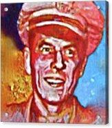 Captain Ronald Reagan Acrylic Print by Dean Gleisberg