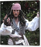 Captain Sparrow Acrylic Print