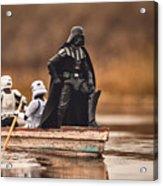 Captain Vader Acrylic Print