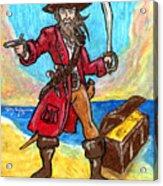 Captain's Treasure Acrylic Print