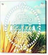 Captiva Island I Acrylic Print