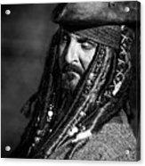 Capt'n Jack Acrylic Print