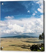 Capulin Volcano View New Mexico Acrylic Print